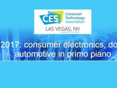 CES 2017: consumer electronics, domotica, automotive in primo piano