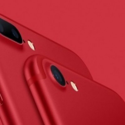 iPhone 7 Special Edition color rosso, da venerdì 24 marzo