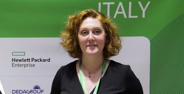 Lara Del Pin, Manager of Channels Italy, Veeam Software, VeeamOn Forum