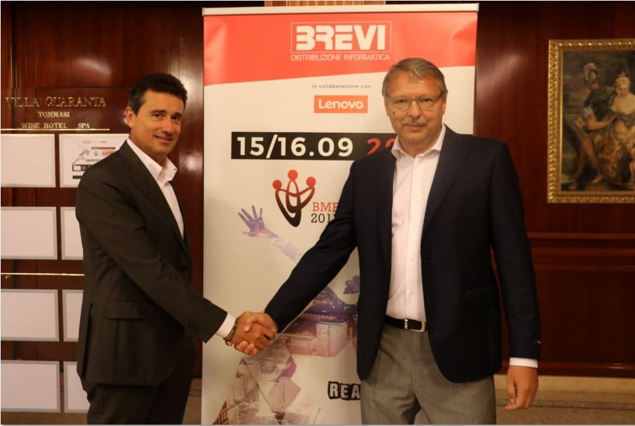 partnership brevi lenovo