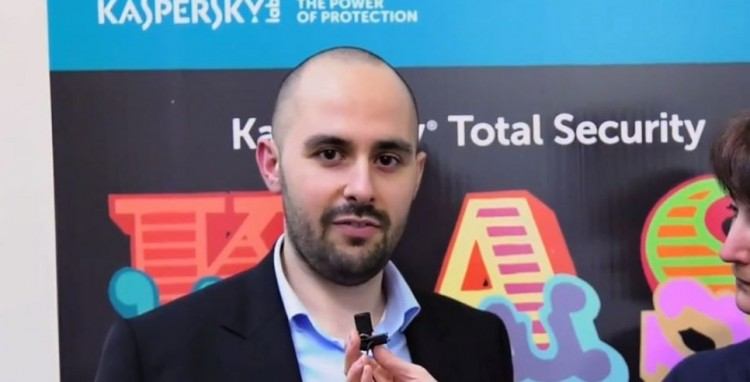 Giampaolo Dedola, Security Analyst del GReAT Team, Kaspersky Lab