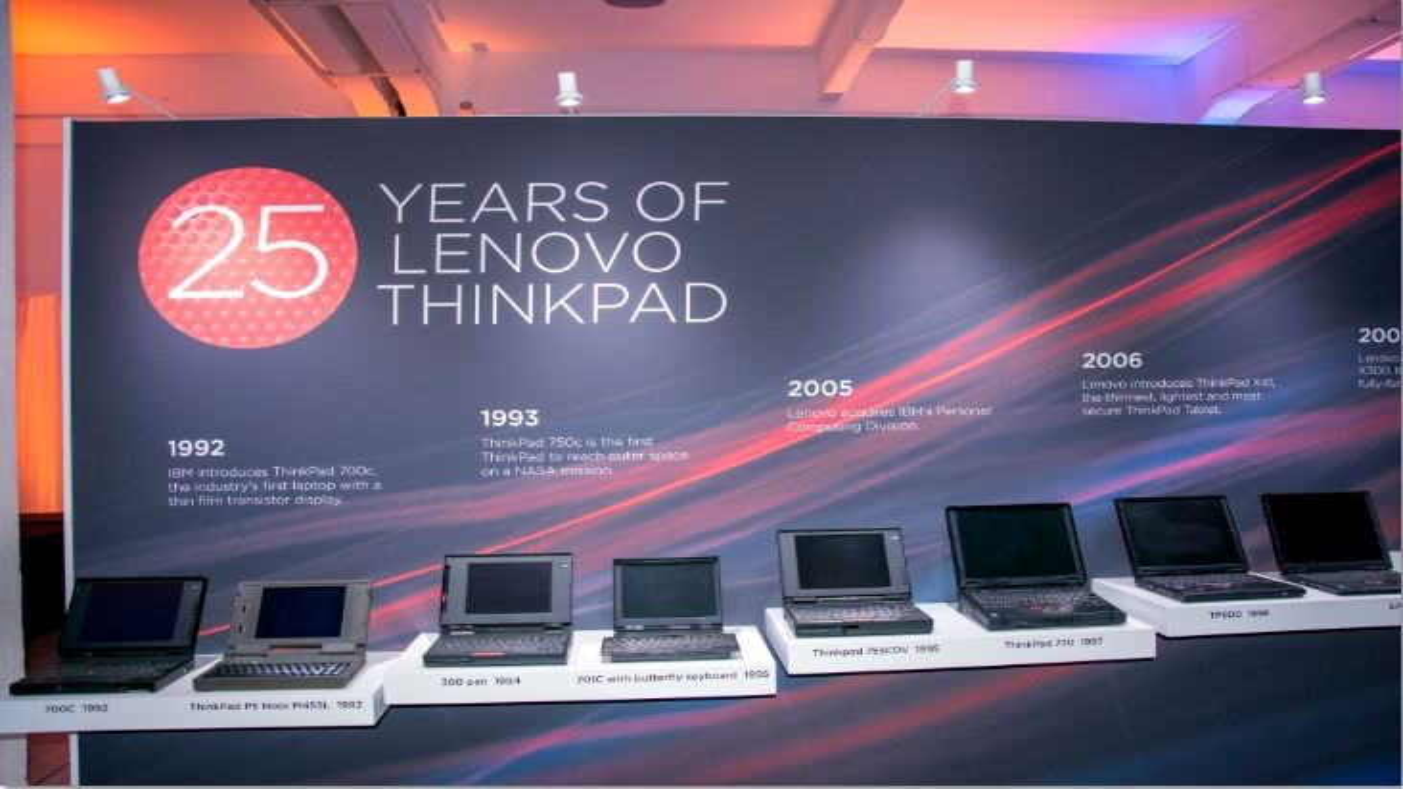 lenovo thinkpad 25 anni