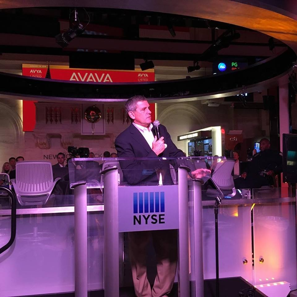 avaya ceo at nyse