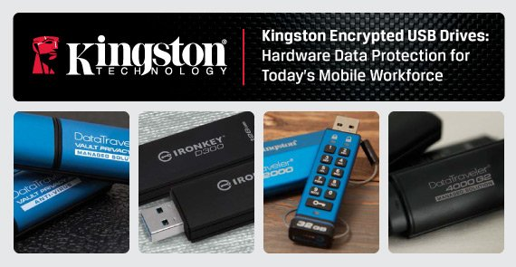 kingston usb crittografati