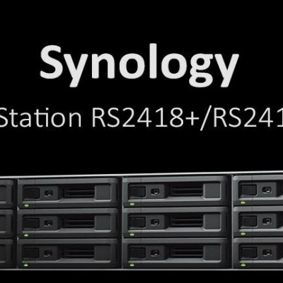 NAS Rack: Synology RackStation RS2418+/RS2418RP+