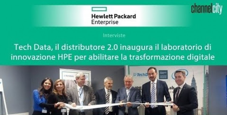 Inaugurazione HPE Innovation Lab di Tech Data