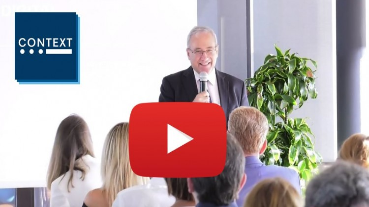 Rivedi la presentazione di Adam Simon, Global Managing Director di Context