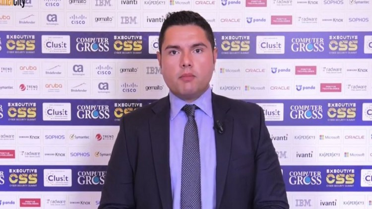 Salvatore Marcis, Senior Sales Engineer, Trend Micro Italia