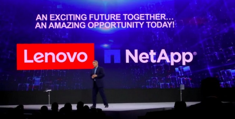 lenovo netapp partnership