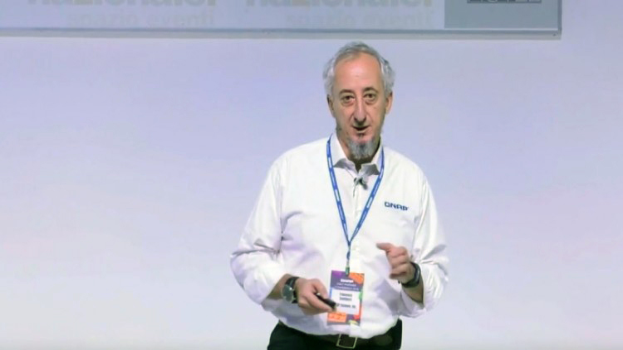 Francesco Camilucci, Italy Pre Sales Manager, QNAP