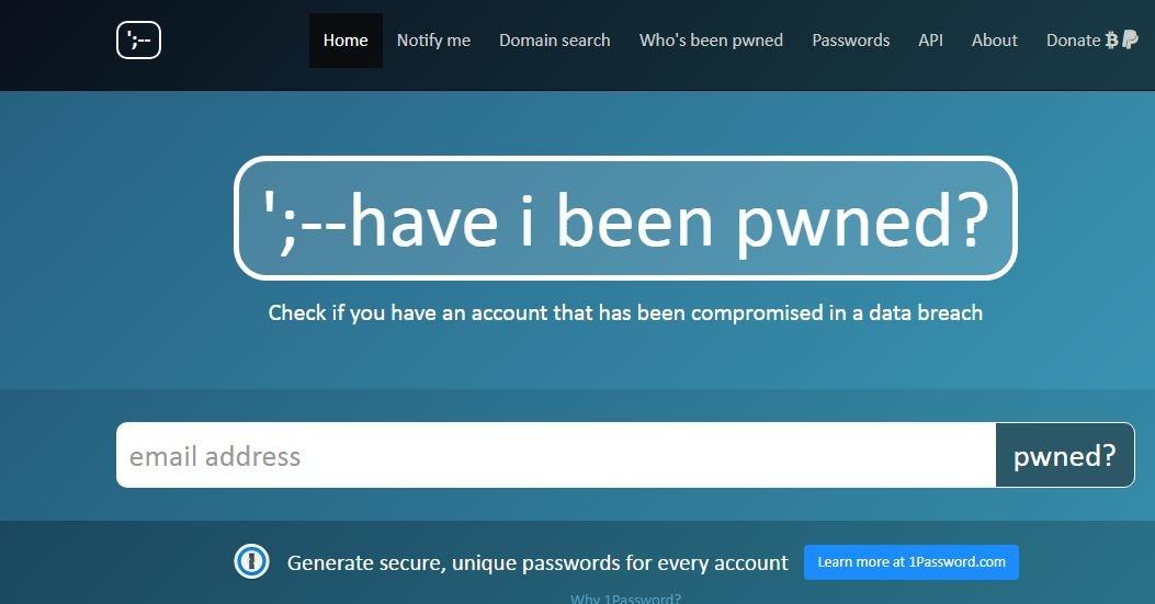 verifica password