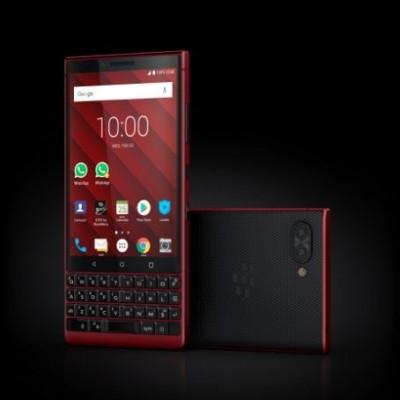 MWC 2019, ecco il BlackBerry KEY2 Red Edition