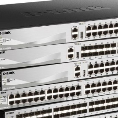 D-LINK Switch Managed Gigabit Layer 3 Stackable DGS-3130