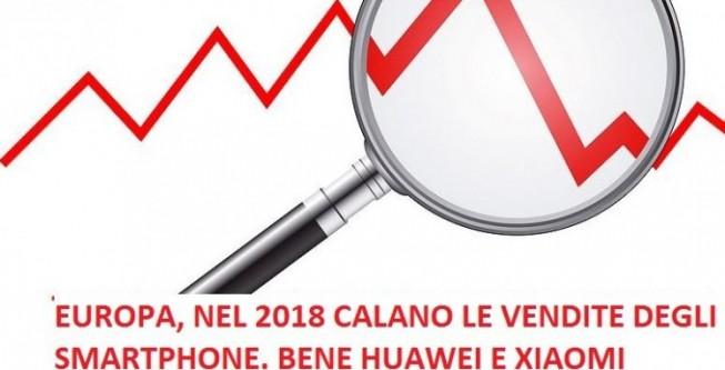 Canalys, In Europa vendite in calo per gli smartphone