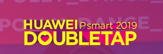 Si alza il sipario su HUAWEI P Smart 2019 DoubleTap