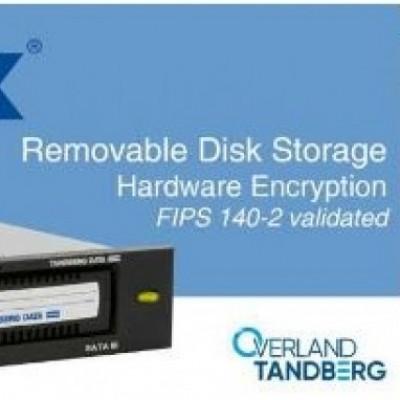 Backup sicuro, Overland Tandberg certificato FIPS 140-2