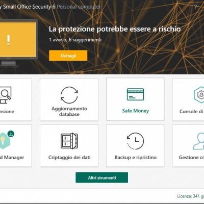 Kaspersky Small Office Security, uno scudo contro tutte le minacce (TEST PRODOTTO)