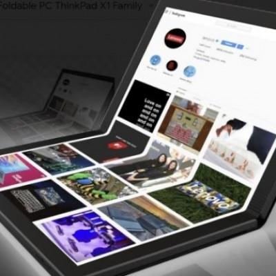 Lenovo, ecco il primo PC pieghevole al mondo