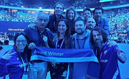 var group microsoft country partner of the year