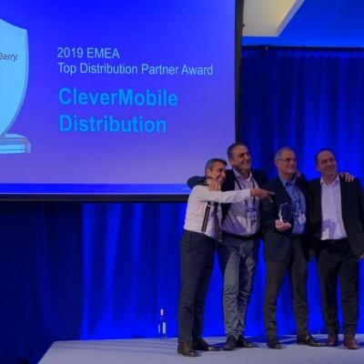 CleverMobile Distribution è il miglior partner Emea di BlackBerry «Un percorso netto, deciso e coraggioso». Le voci, gli obiettivi