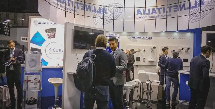 SICUREZZA 2019, le soluzioni di Allnet.Italia