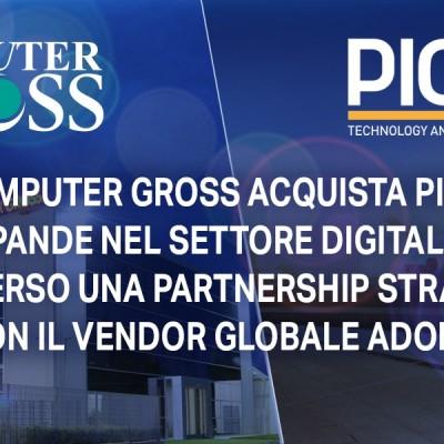 Computer Gross si compra Pico e punta su Adobe