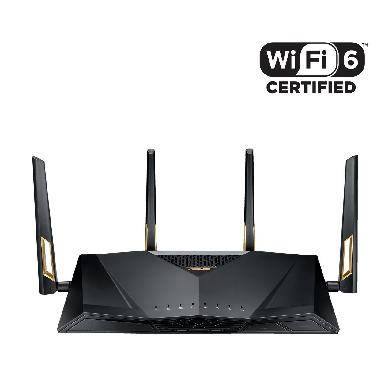 asus rt ax88u with wifi certified 6 logo 1