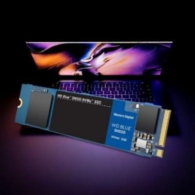 WD Blue SN550 NVMe SSD, Western Digital quadrupla la velocità degli SSD