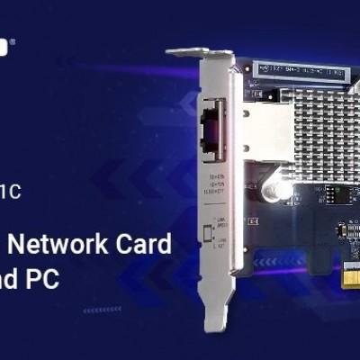 QNAP presenta  QXG-5G1T-111C, il NIC 5GBASE-T a 4 velocità a singola porta per NAS o PC