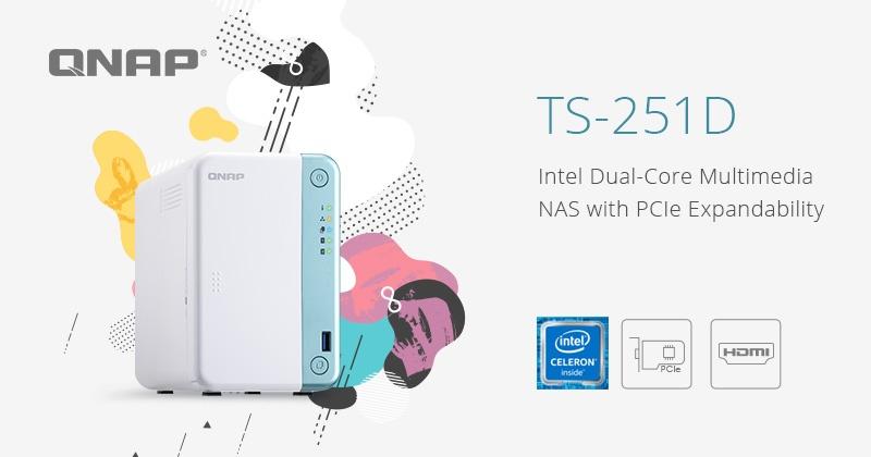 QNAP TS-251D 2-bay, il NAS che strizza l'occhio all'intelligenza artificiale