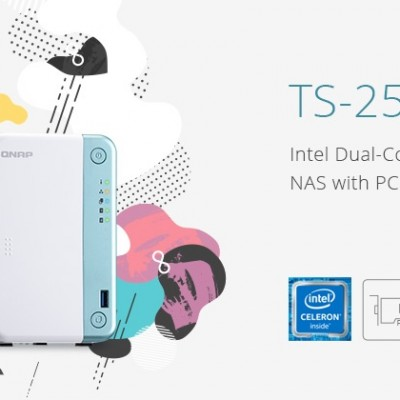 QNAP TS-251D 2-bay, il NAS che strizza l'occhio all'intelligenza artificiale