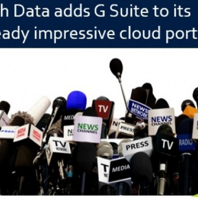 Soluzioni in Cloud, Tech Data distribuisce G Suite