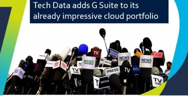 Soluzioni in Cloud, Tech Data distribuisce G Suite