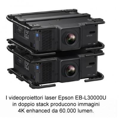 ISE 2020, Epson presenta il videoproiettore EB-L30000U da 30.000 lumen