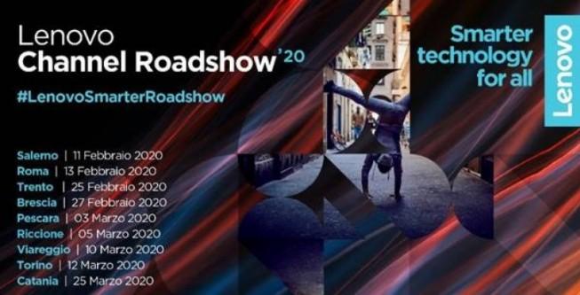 Lenovo Channel Roadshow'20, parte il nuovo roadshow dedicato al Canale ICT
