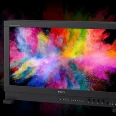 Sony, ecco i monitor 4K HDR con TRIMASTER di nuova generazione