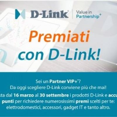 D-Link premia gli acquisiti dei suoi 3000 partner VIP+