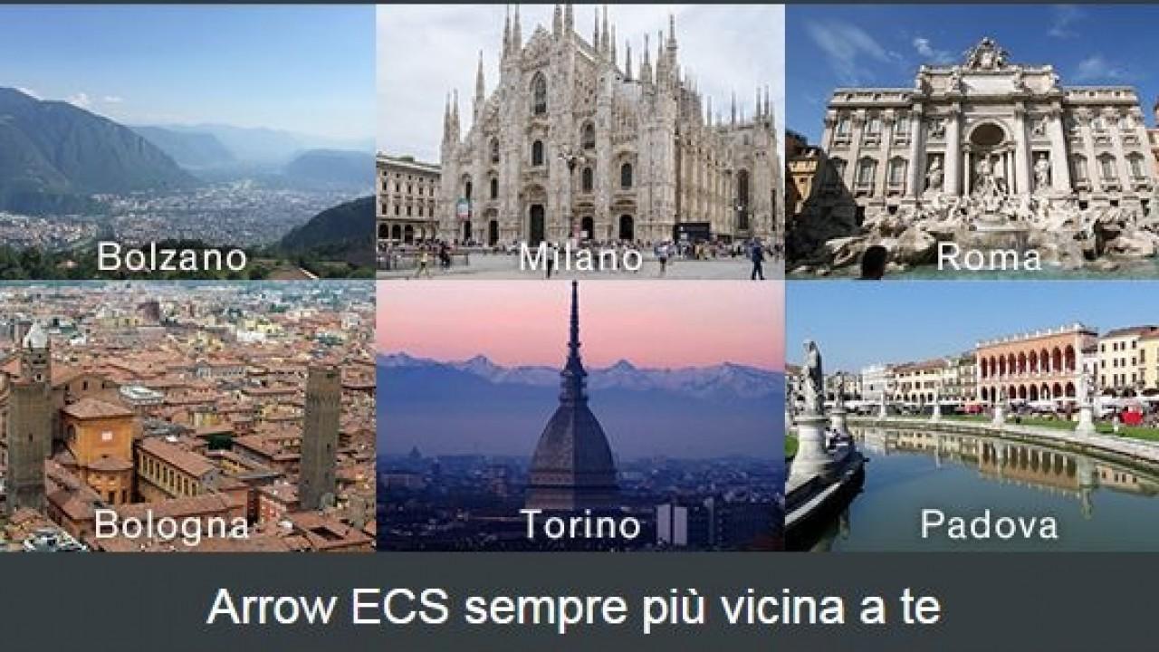 Arrow ECS apre tre nuove sedi sul territorio italiano ...