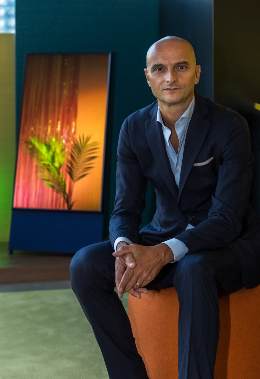 bruno marnati vice president of audio video division samsung electronics italia 2