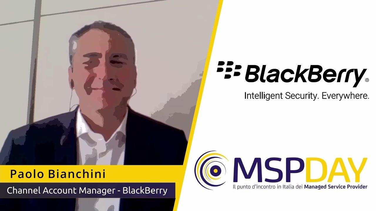 BlackBerry a MSP Day Online 2021
