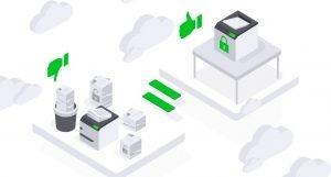 cloud print infrastructure lexmark