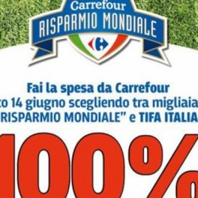 Italia Inghilterra, se l'Italia vince Carrefour sconta la spesa