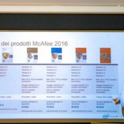 Sicurezza a 360 gradi con Intel Security