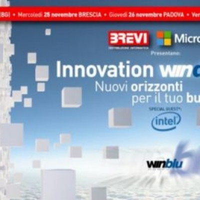Brevi ti porta nel futuro con gli Innovation WinDay