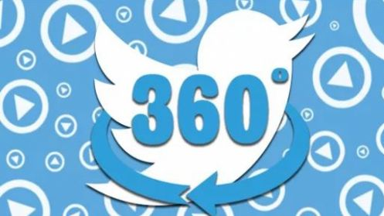Twitter, ecco i video a 360 gradi