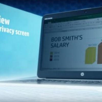 HP, uno schermo antipirateria nei portatili