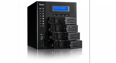 Thecus N4810, il Multimedia NAS a 4 Bay